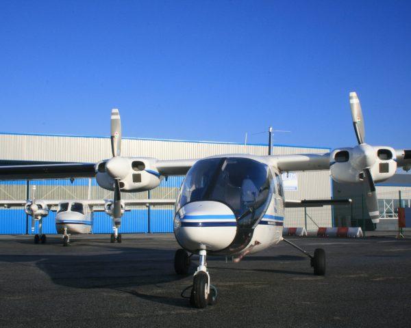 APEM survey aircraft