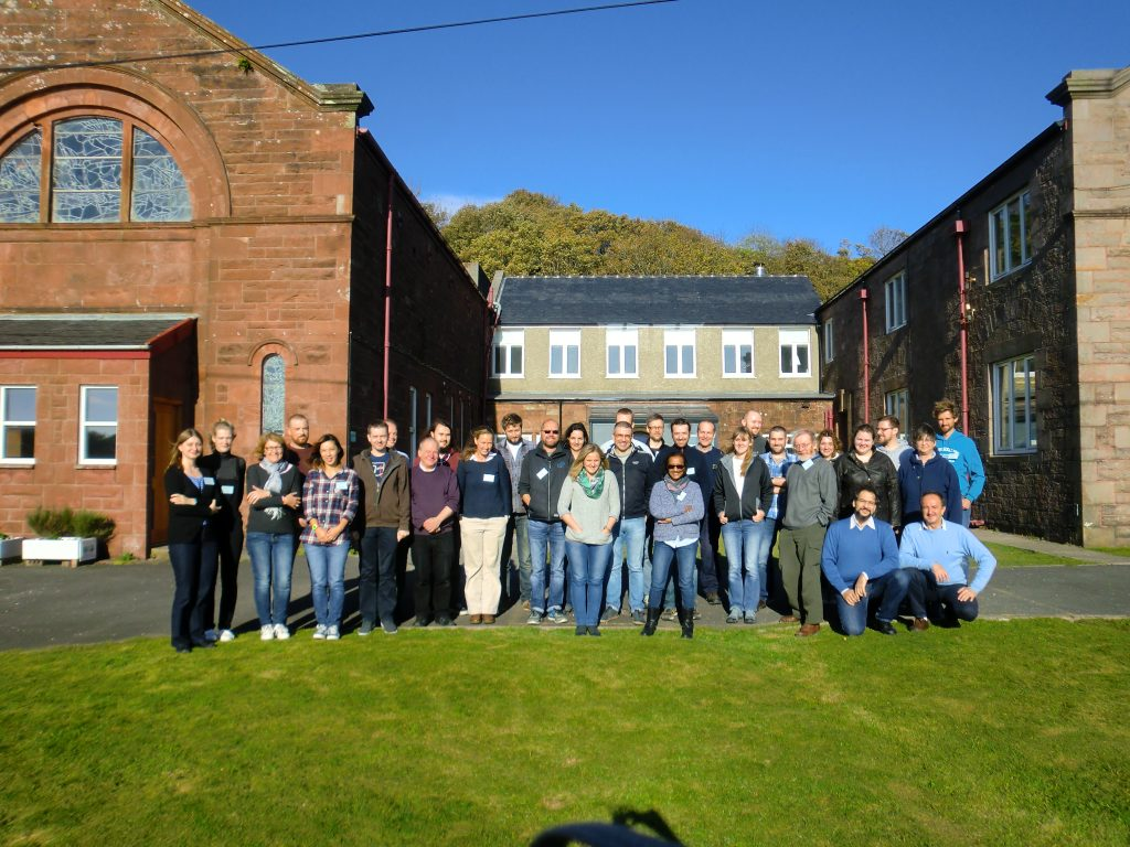 Attendees at NMBAQC taxonomic workshop