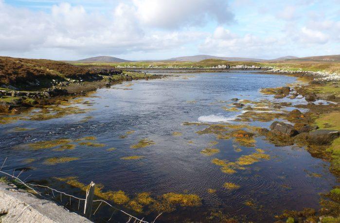 A lagoon in Scotland