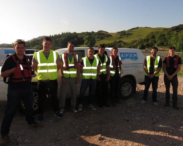 APEM field team on survey
