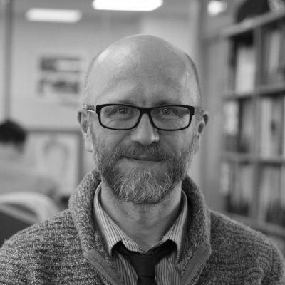 Head and shoulders shot of Mark Barnett, principal consultant