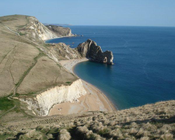 Coastal scene of Cornwall