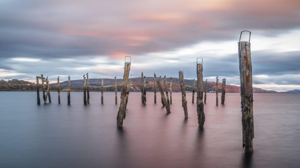Old Salen Pier