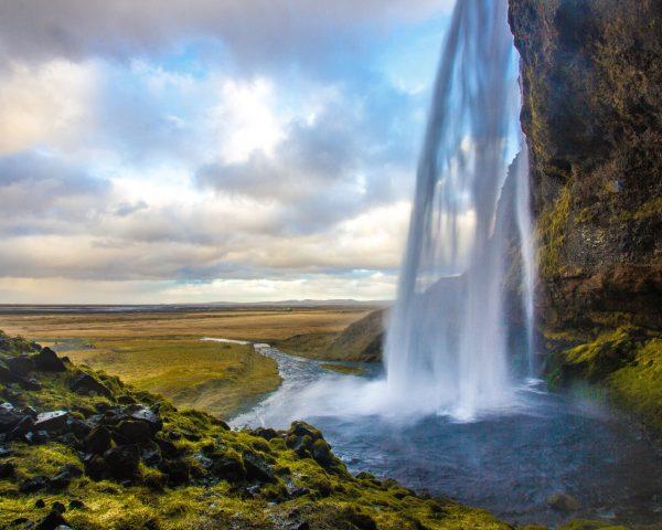 waterfall on the moors