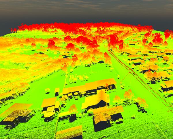 Port Albert heat map