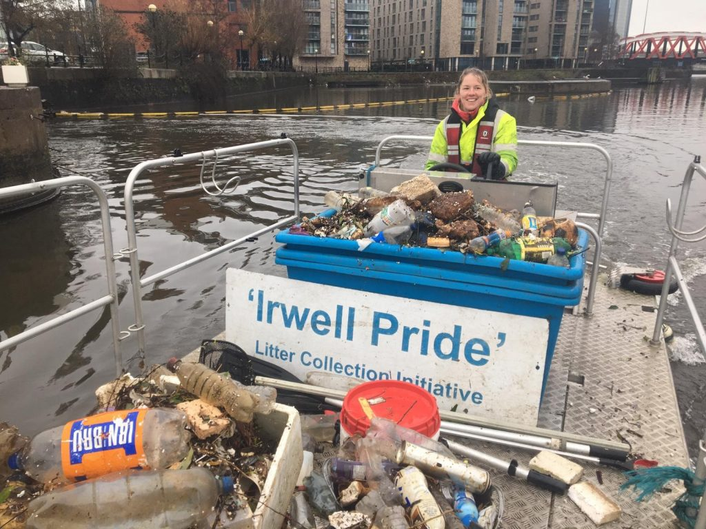 Irwell Pride litter boat